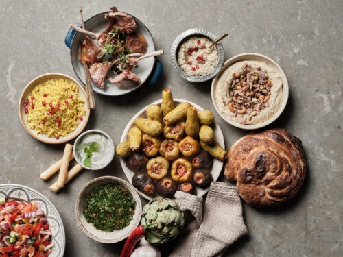 Laziza menu Beirut